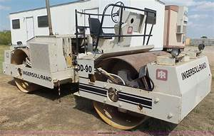 Ingersoll Rand Dd90 Double Drum Vibratory Roller