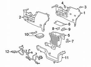 Chevrolet Equinox Console Wiring Harness  Lower Components