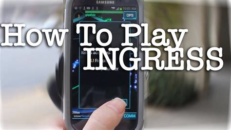 Play Ingress by Tinkernut How To Play Ingress