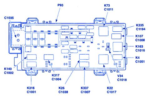 2002 Ford Ranger Fuse Block Diagram by Ford Ranger 2005 Power Supply Junction Fuse Box Block
