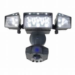 Led light design security lights with camera