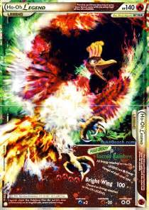 pokemon card of day ho oh legend heart