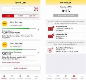 Dhl Packstation App : dhl packstation abholcode k nftig per app statt sms ~ A.2002-acura-tl-radio.info Haus und Dekorationen