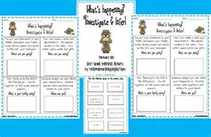 First Grade Inference Activity