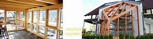 Wintergarten Aus Holz Selber Bauen : wintergarten selber bauen glasdach selber bauen bauanleitung ~ Orissabook.com Haus und Dekorationen