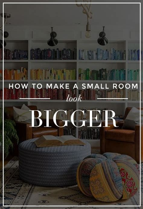 Decor Hacks  How To Make A Small Room Look Bigger 25. Best Kids Room Furniture. Decorating Spare Bedroom Ideas. Room Splitter. Sun Rooms. Used Conference Room Chairs. Natural Room Freshener. Wallpaper For Room Walls. Nautical Wedding Table Decor