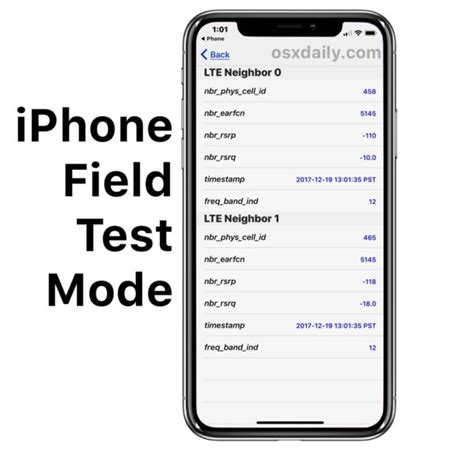 field test iphone how to use field test mode in ios 11 and iphone x