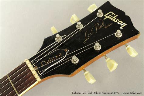 Sunburst 1972 Gibson Les Paul Deluxe | www.12fret.com