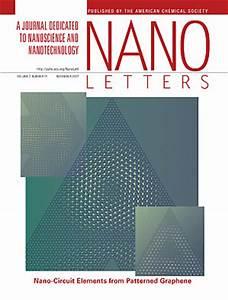 denis areshkin 92 members 92 the nanoelectronic modeling With nano letters cover letter
