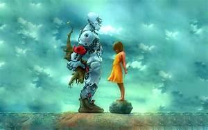 Robot, Sci, Fi, Art, Artwork, Futuristic, Robots, Wallpapers, Hd, Desktop, And, Mobile, Backgrounds