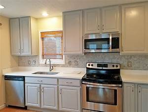Seagull Gray Kitchen Cabinet Makeover General Finishes