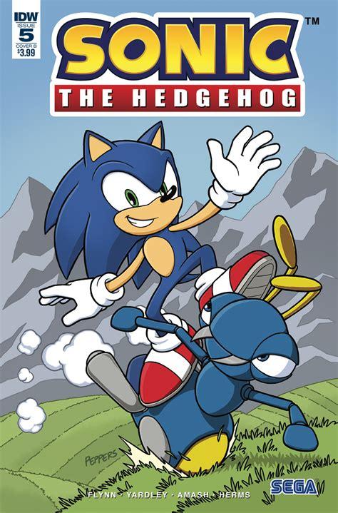 Sonic The Hedgehog 5 Idw Publishing