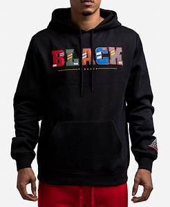 black pyramid men39s block letter hoodie hoodies With letter hoodie