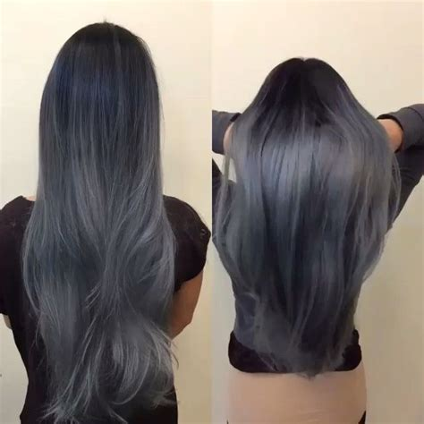 Charcoal Hair Dye by Best 25 Charcoal Color Ideas On Charcoal