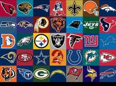 The Best NFL Logos (and the Worst) - YouTube