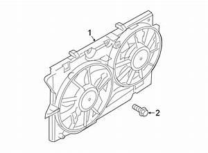 Ford Police Interceptor Utility Engine Cooling Fan