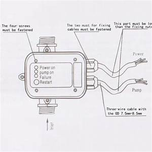 High Quality Automatic Water Pump Pressure Controller