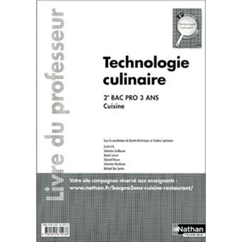 technologie cuisine bac pro technologie cuisine bac pro 28 images technologie