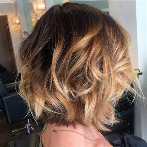 cool balayage ideas  short hair stayglam