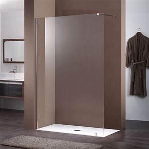 Paroi De Douche 160 : paroi fixe de 160 cm en 10mm pour douche de salle de bain ~ Edinachiropracticcenter.com Idées de Décoration