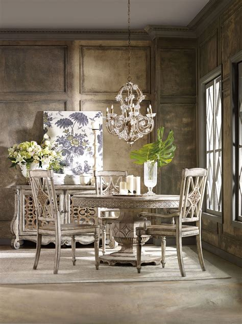 chatelet cream  extendable dining room set