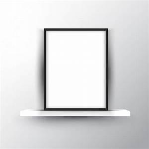 Etagere Cadre Photo : blank cadre photo sur une tag re t l charger des ~ Teatrodelosmanantiales.com Idées de Décoration