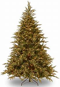 One String Of Lights Out On Prelit Tree Best Fake Christmas Trees And Stands For Your Home