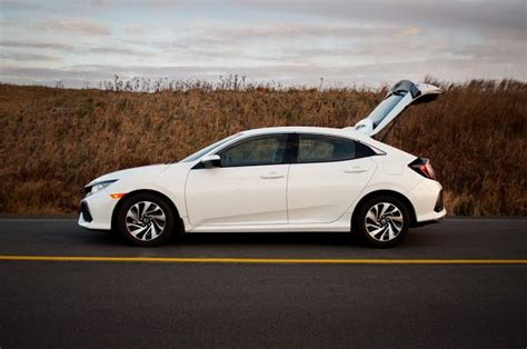 honda civic hatchback lx review nice personality