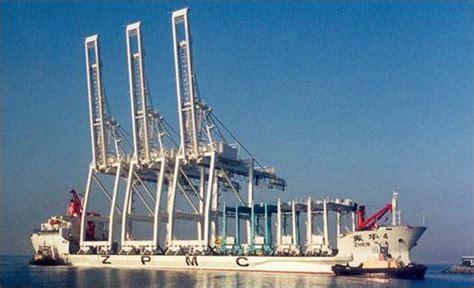 Crane Offload & Commissioning 3 STS & 2 RTG ZPMC Cranes ...