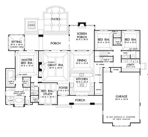 house plans with kitchen in front plan of the week the chesnee 1290 house walk in and