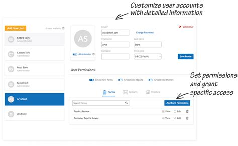 Multi-user Management Access For Online Form Builder