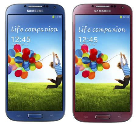 samsung galaxy s4 colors samsung galaxy s4 lte a revealed
