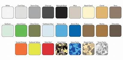 Seadek Colors Custom Sheet Sample Material Options