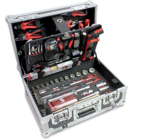 poubelle de cuisine coffre à outils complet 134 pcs mw tools btk141hd