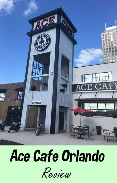 ace cafe orlando review speed thrills great food