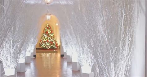 liberals  melanias christmas decorations
