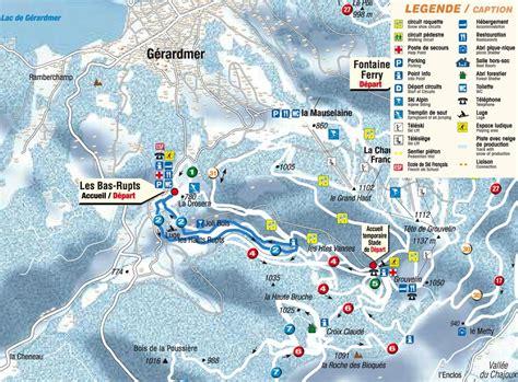 chambres d hotes gerardmer itinéraires ski de fond hauts rupts gérardmer hautes