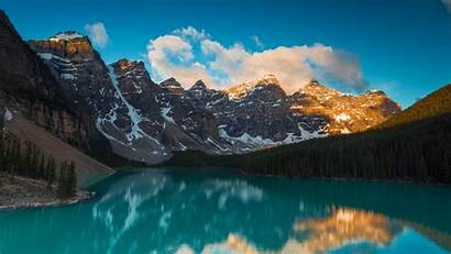 Lake Forest Landscape Mountains 1080p Background Reflection