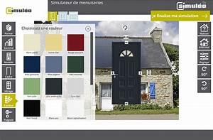 Simulateur Couleur Volets : stunning simulateur couleur facade maison with simulateur ~ Melissatoandfro.com Idées de Décoration