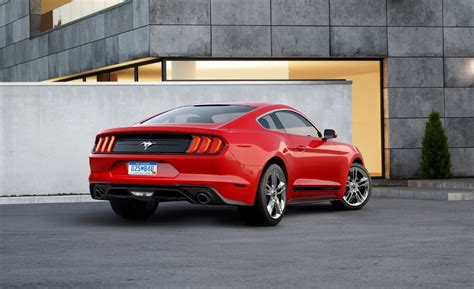 ford mustang ecoboost 2018 2018 ford mustang ecoboost gets shiny with pony package