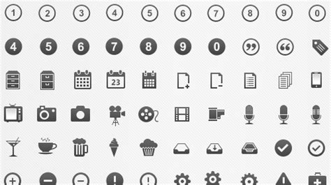 Absolutely Free Vector Icons Packs For Your Ui Designs