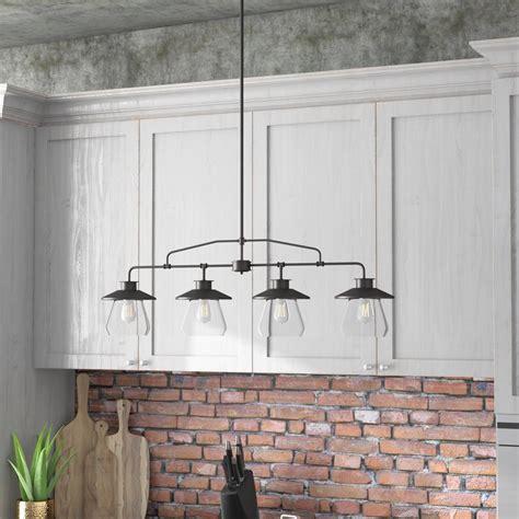 large kitchen light trent design de 4 light kitchen island pendant 3660