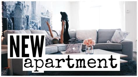 Moving Into My New Apartment  Youtube