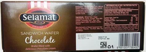 jual selamat biskuit sandwich wafer chocolate