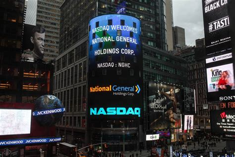 NASDAQ Welcomes National General - Wildfire