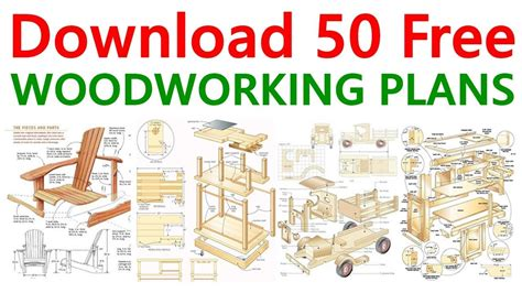 woodworking plans diy projects youtube