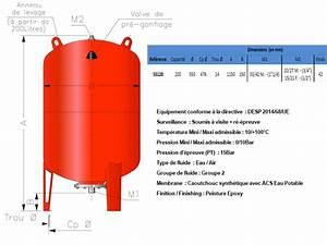 Reservoir A Vessie 200l : r servoir vessie massal vertical 200 litres 10 bars prix pas cher ~ Nature-et-papiers.com Idées de Décoration