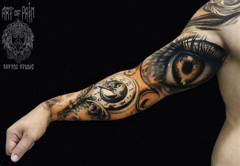 bicep eye sleeve tattoo  tattoo ideas gallery