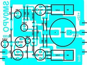 4w Audio Amplifier Using Transistor Tip41