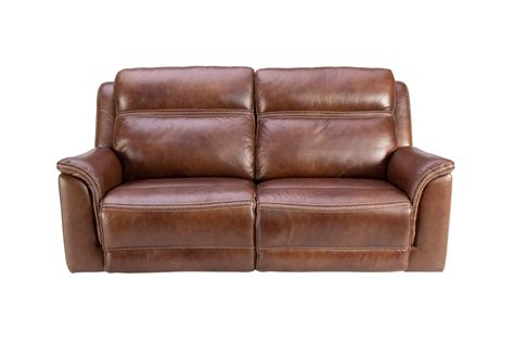 Leather Power Reclining Sofa by Fargo Leather Power Reclining Sofa At Gardner White